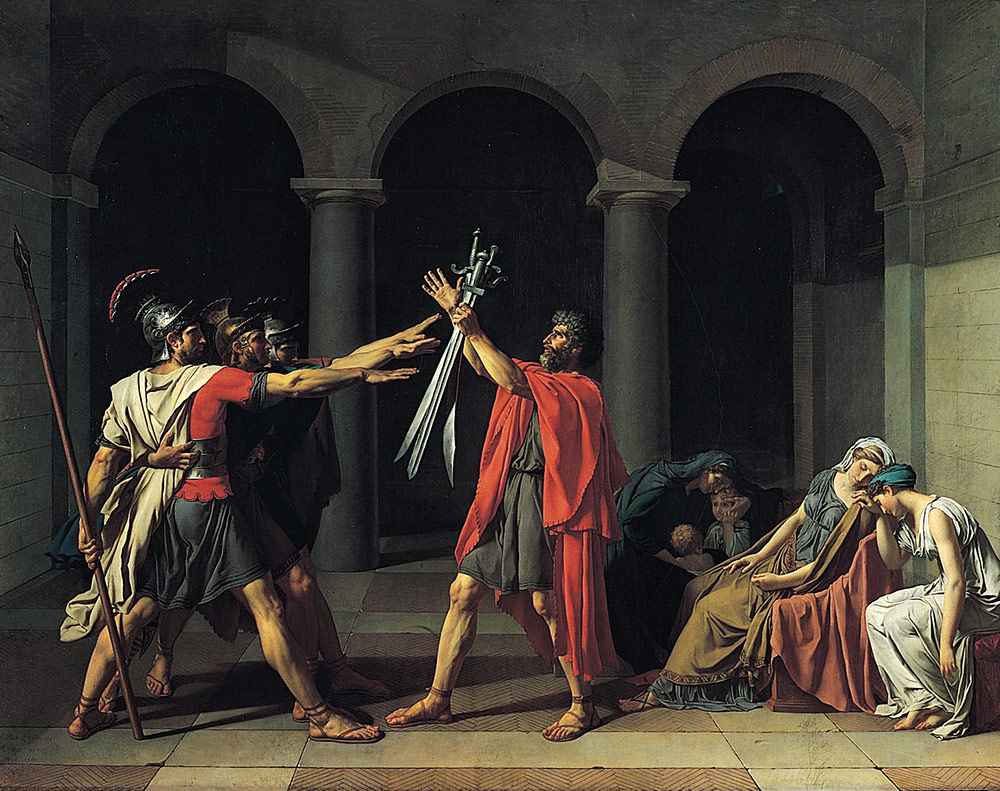 Jacques Louis David Le Serment des Horaces
