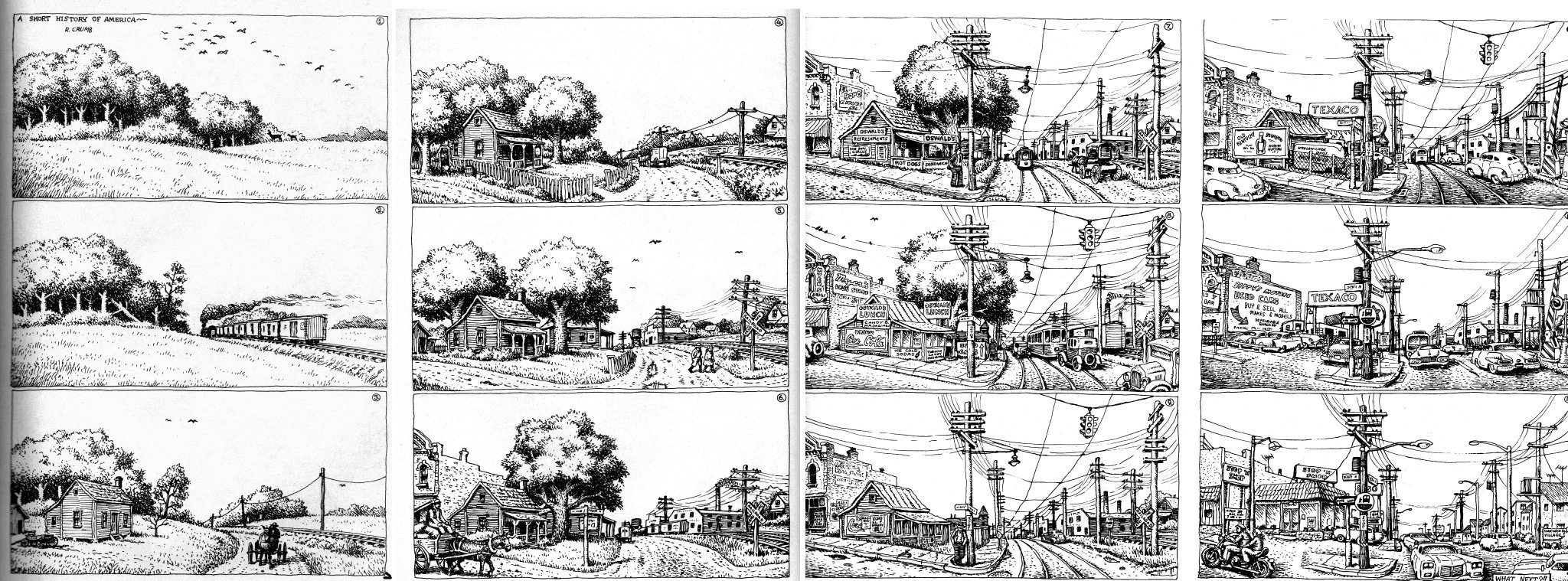 A Short History of America Robert Crumb