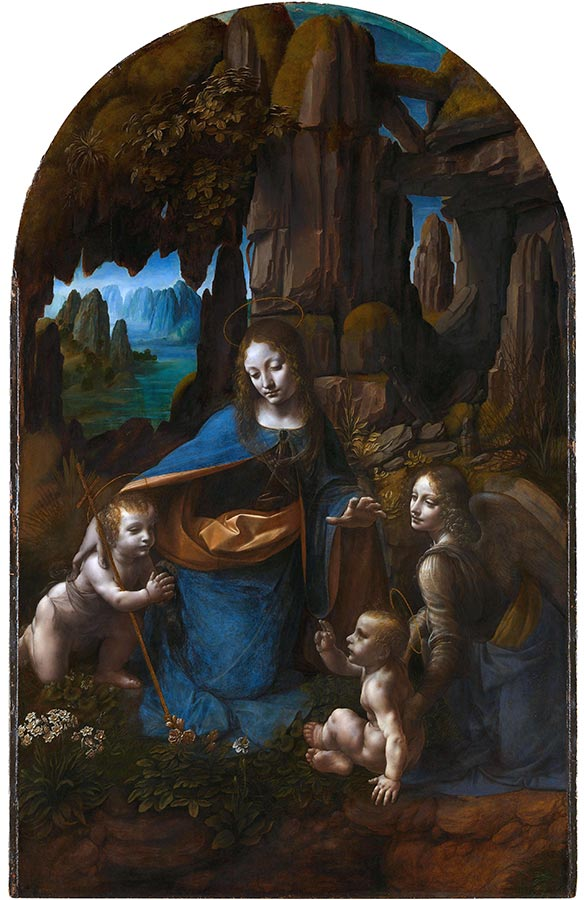 Leonardo da Vinci Virgin of the Rocks National Gallery London all