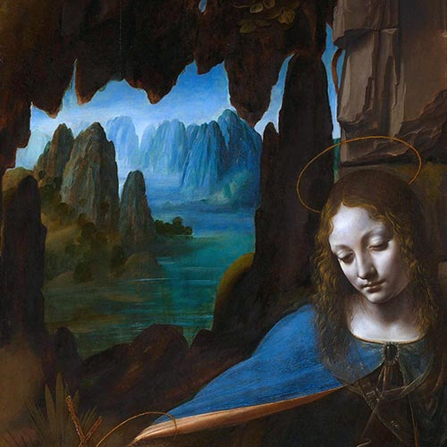 Leonardo da Vinci Virgin of the Rocks National Gallery London