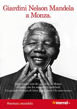 Firma per i giardini Nelson Mandela a Monza!