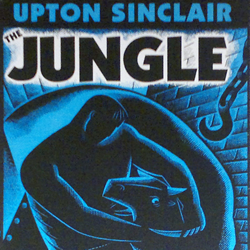 20191702 quadrata maniifesto the Jungle upton sinclair libreria Chicago 2015